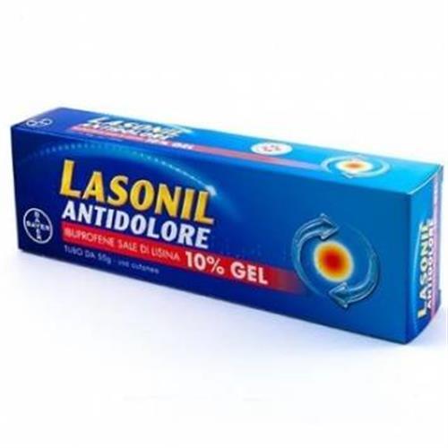 LASONIL ANTIDOLORE GEL120G 10%